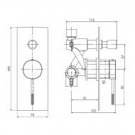 Imprese Brenta ZMK091908041-цена