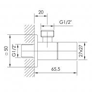 Imprese Grafiky ZMK041807001 G1/2-G1/2