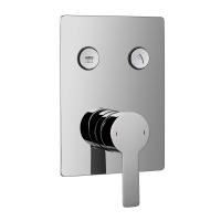 Imprese Smart Click для душа(скрытый монтаж), 2 режима, хром
